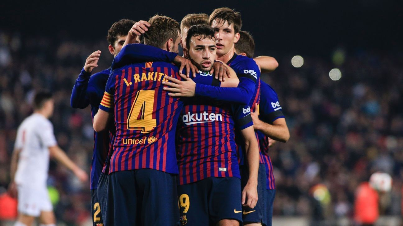 Barcelona want Munir El Haddadi gone in January - Ernesto Valverde