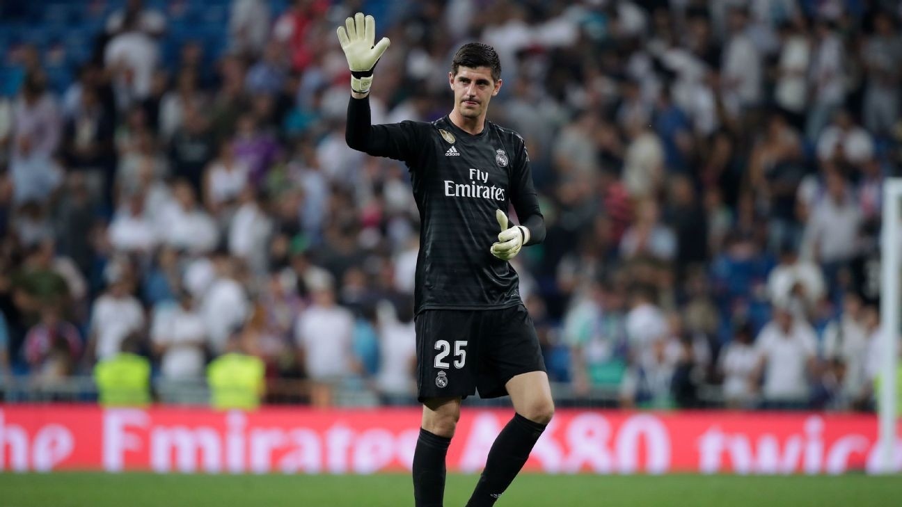 Real Madrid gloom deepens as keeper Courtois suffers muscle injury