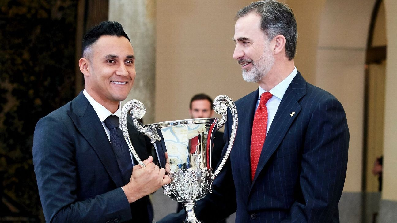 Real Madrid's Keylor Navas: I would leave if I was not first choice