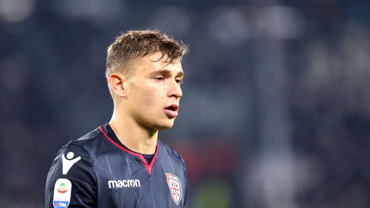 Nico who? Meet Nico Barella, the Cagliari youngster at the top of Juventus and Chelsea's wishlists