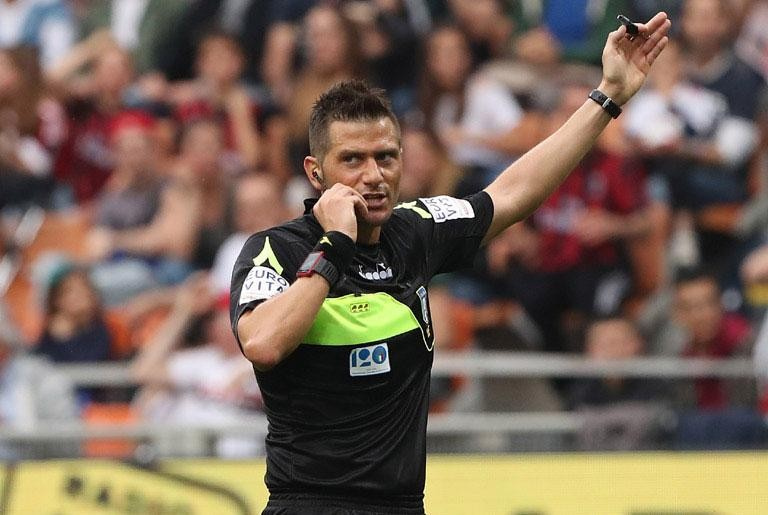 COPPA ITALIA, LAST 16 ROUND: THE REFEREES