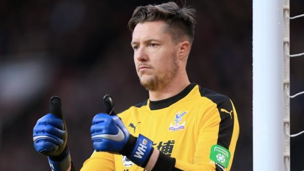 Wayne Hennessey: Roy Hodgson backs goalkeeper over alleged Nazi salute