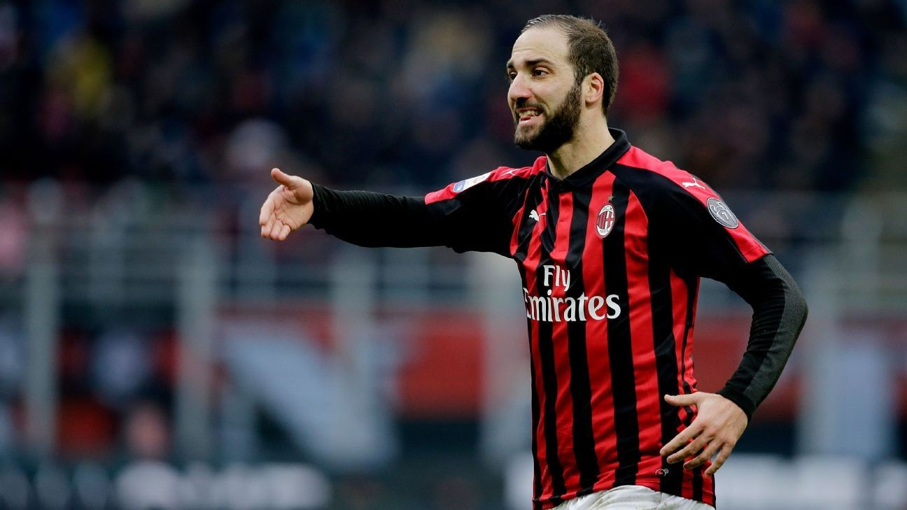 Higuain agent in talks with AC Milan amid Chelsea interest - Gattuso