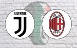 Juventus v AC Milan: Official Line-Ups