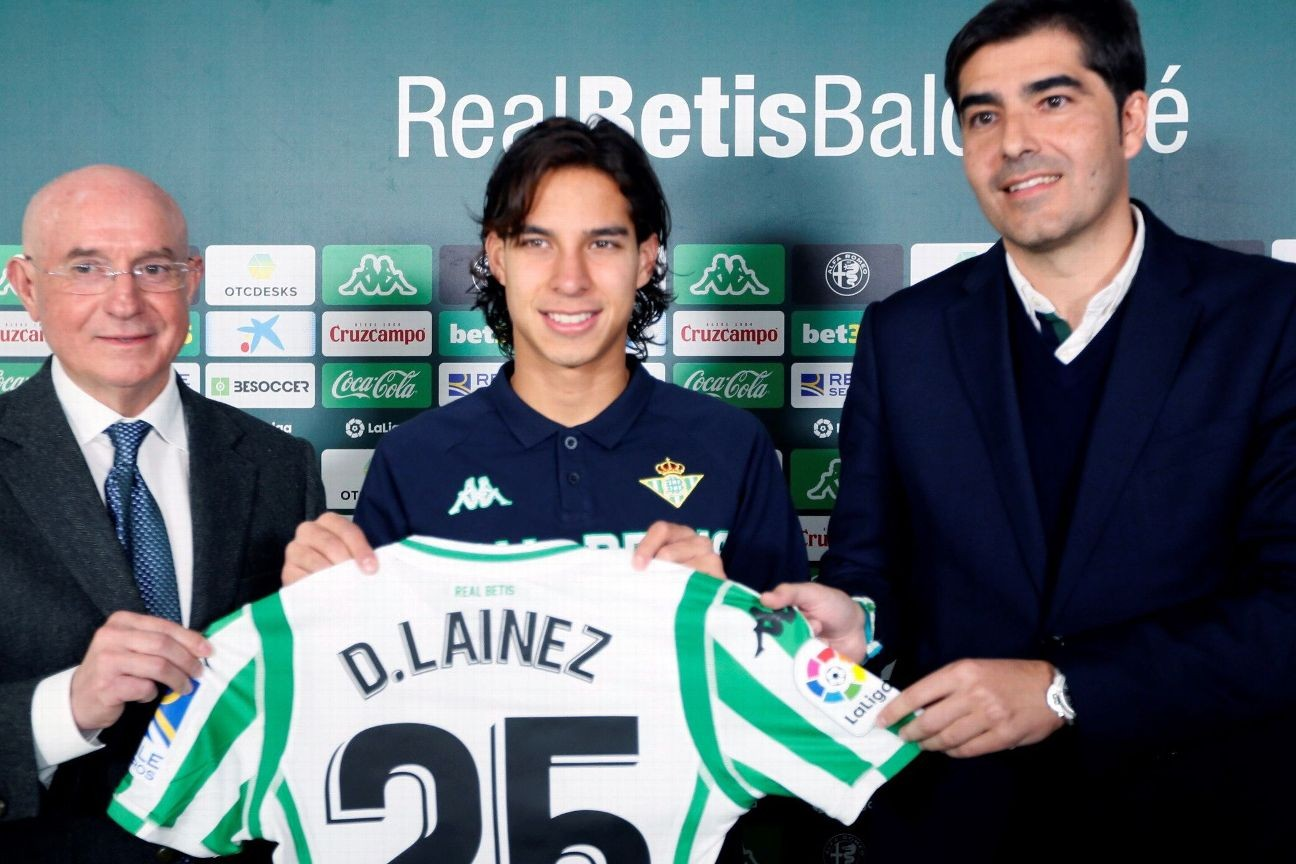info for 84b51 4dc2e Mexico youngster Diego Lainez: Real Betis was 'best decision ...