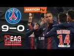 PSG vs Guingamp 9-0 All Goals & Highlights HD