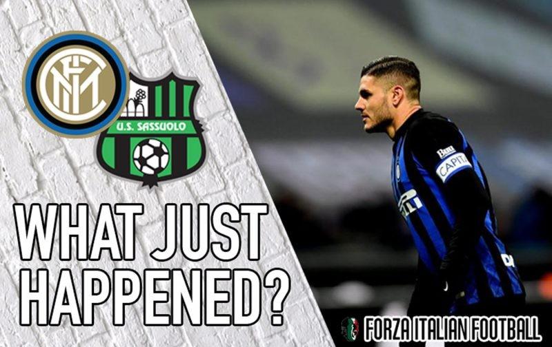 VIDEO: Inter 0-0 Sassuolo – Creativity lacking