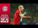 Best Goals of Arjen Robben in the FC Bayern jersey | Happy 35th Birthday