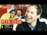 Saving Penalties, Playing With His Feet & Pumping Iron |  Cech & Chill ft. Poet and Vuj