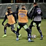 Talented Ghanaian defender Gideon Mensah holds first training with Austrian side SK Sturm Graz