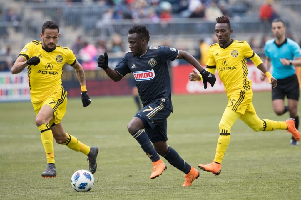 Ghana forward David Accam picks the MLS over the Swedish league