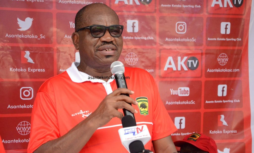 Nobody will touch CK Akonnor at Kotoko - George Amoako insists