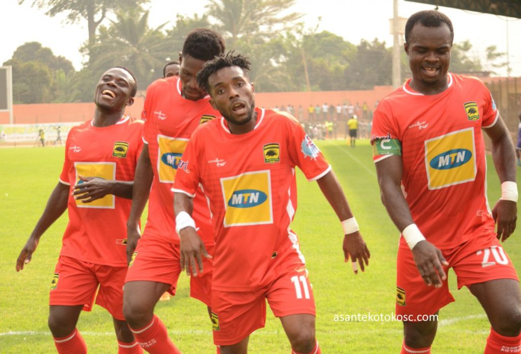 Kotoko captain Amos Frimpong wants massive support from fans in Kumasi ahead of Coton Sport clash