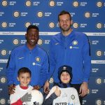PHOTOS: Kwadwo Asamoah in meet and greet session with young Inter fans