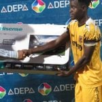 AshantiGold ace James Akaminko named Man of the Match in JA Kuffour Cup match
