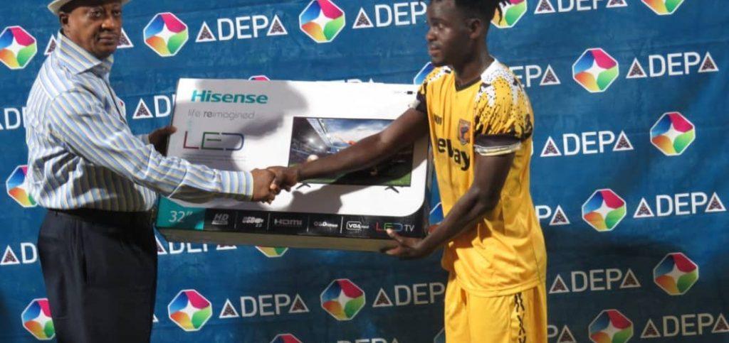 AshantiGold ace Jerry Akaminko named Man of the Match in JA Kuffour Cup match