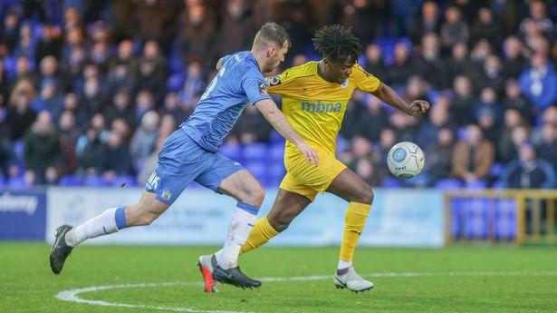 Chester FC striker Akwasi Asante suffers injury