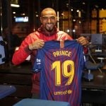Kevin Prince Boateng's ex-wife Melissa Satta proud of his Barcelona move