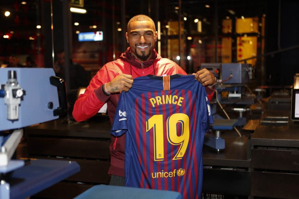 Kevin Prince Boateng\'s ex-wife Melissa Satta proud of his Barcelona move