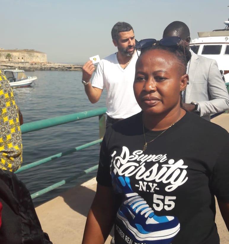 Ex-Black Queens captain Adjoa Bayor in Dakar with African legends ahead of 2018 CAF Awards