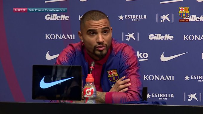 Ex-AMG Group member Showboy advises Barcelona new boy Kevin-Prince Boateng against returning to the Black Stars