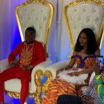 HISTORIC: Black Stars striker David Accam weds Black Queens striker Florence Dadson