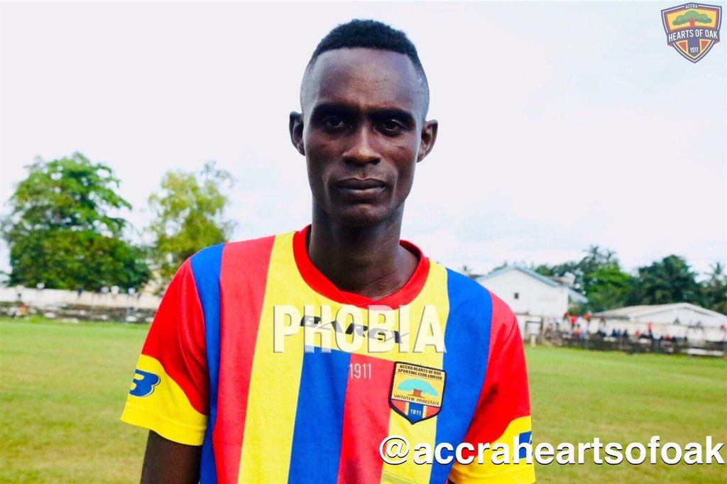 Former Hearts midfielder Camara Nguessan joins Medeama