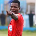Ghana's star referee Daniel Laryea to handle CS Sfaxien versus Vipers CAF Confederation Cup