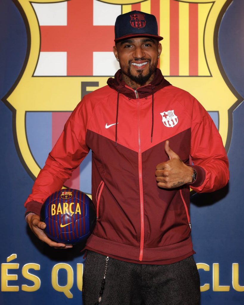 Kevin-Prince Boateng reveals joining Barcelona is a 'big dream come true'