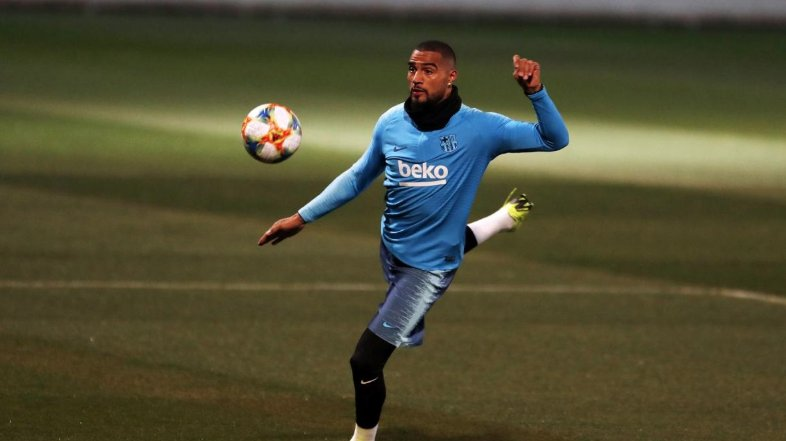 Kevin-Prince Boateng fails to make Barcelona's squad for La Liga clash against Real Sociedad