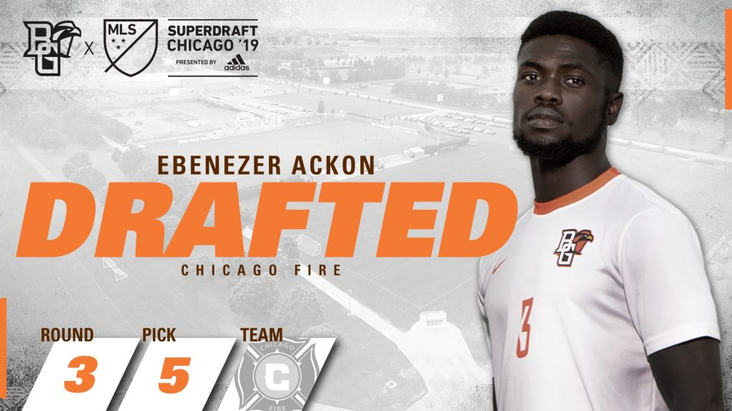 Former Mfantsipim School boy Ebenezer Ackon drafted by MLS side Chicago Fire