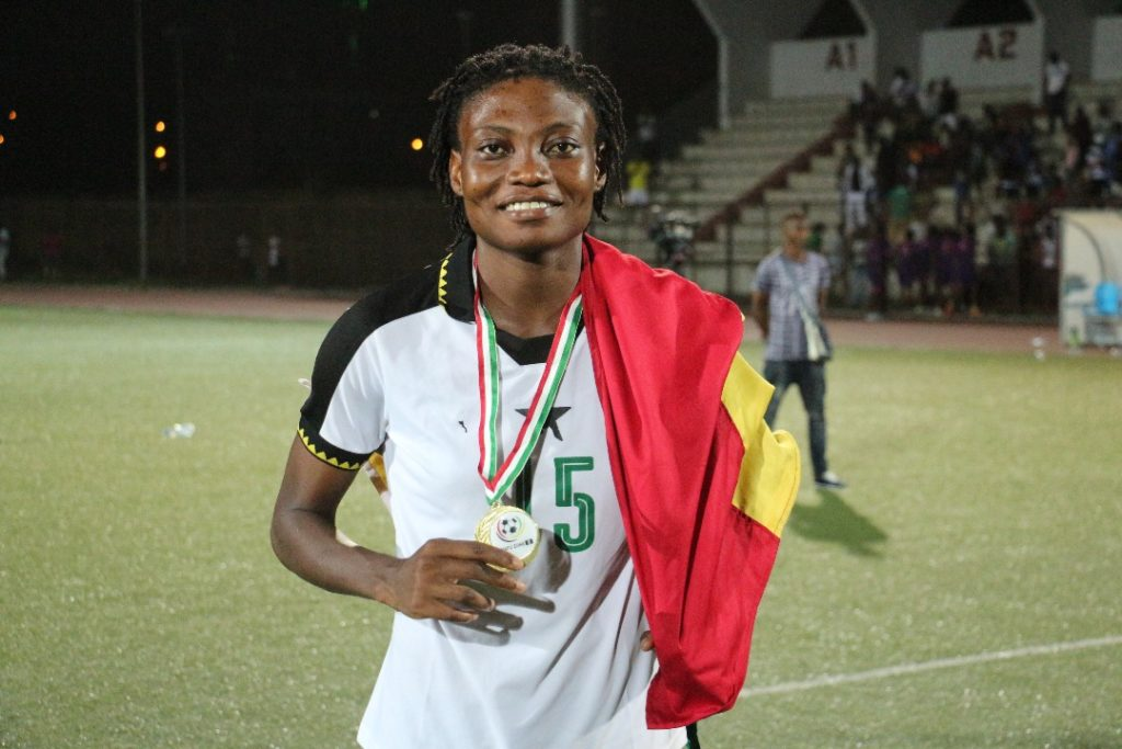 """Black Queens defender Faustina Ampah """"humbled and honoured"""" by SWAG Award nomination"""