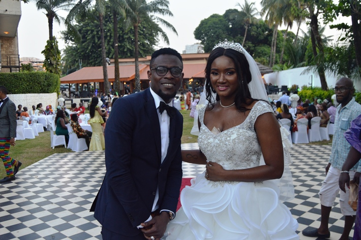 PHOTOS: Gershon Koffie marries former Guinea beauty queen Souadou Dramé in Conakry