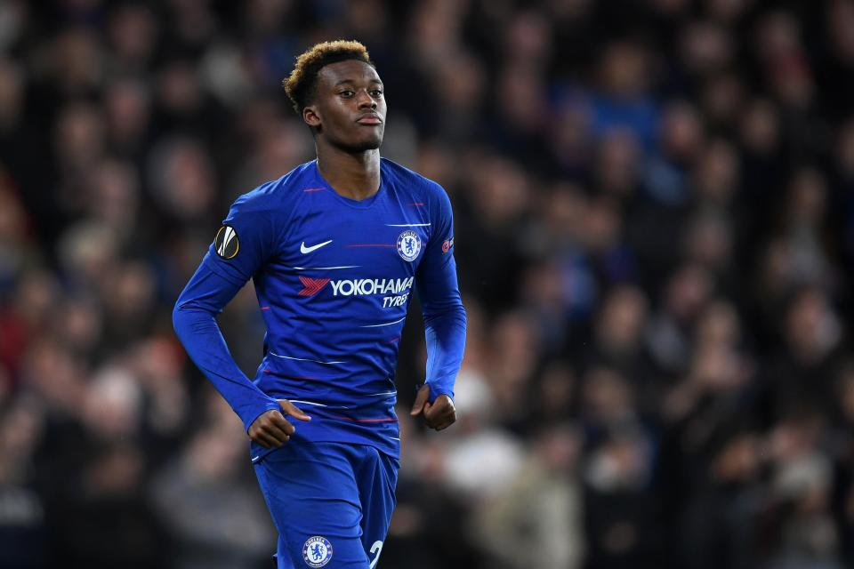 Derby County manager Frank Lampard advises Hudson-Odoi to stick with Chelsea