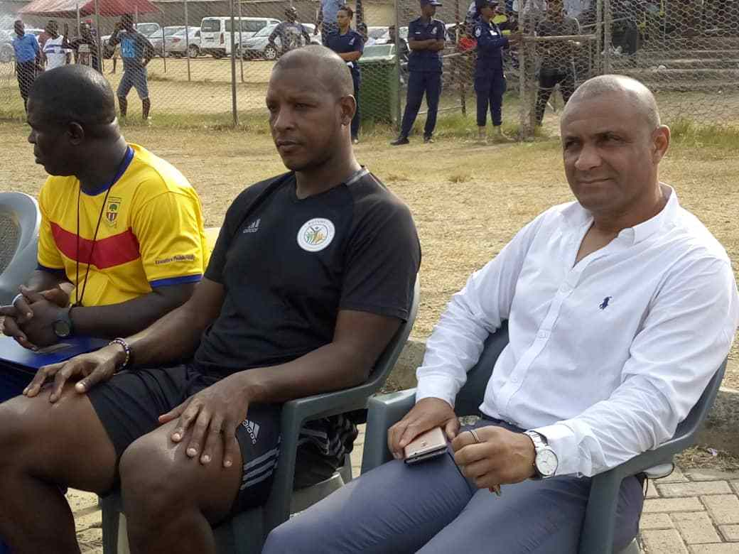 'Cheerful' Kim Grant lavishes praises on Hearts of Oak players after friendly win over Hasaacas