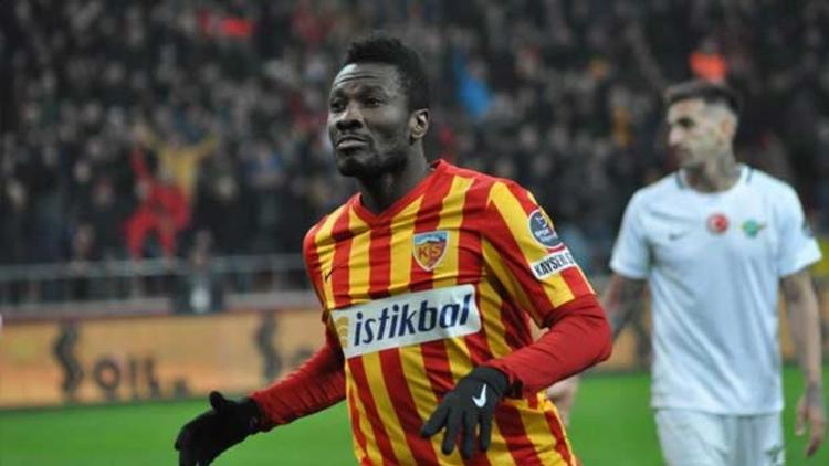 Performance of Ghanaian players abroad wrap-up: Gyan features for Kayserispor, Ayew plays full throttle for Fenerbahce as Asamoah helps Inter win Derby della Madonnina