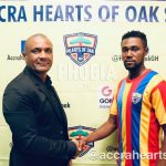 Hearts of Oak hand left back Enock Addo first pro contract
