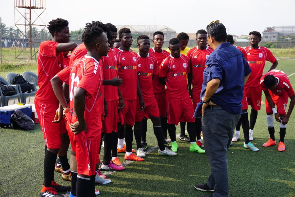 Inter Allies to organize two-week trial to select players for youth team