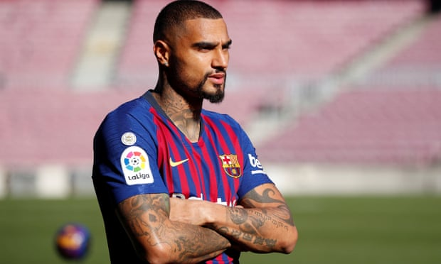 How did Barcelona end up signing Kevin-Prince Boateng?