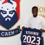 Ghanaian youngster Godson Kyeremeh signs contract extension with French Ligue 1 side Caen