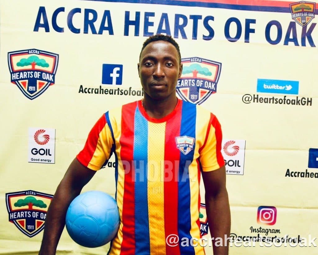 VIDEO: Hearts of Oak forward Kofi Kordzi delivers stupendous strike to down 'noisy' Dreams FC