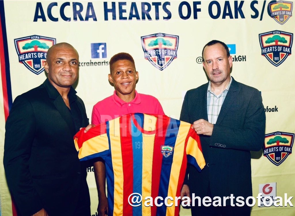Hearts of Oak sign former PAOK FC defender Ibrahim Larry Sumaila