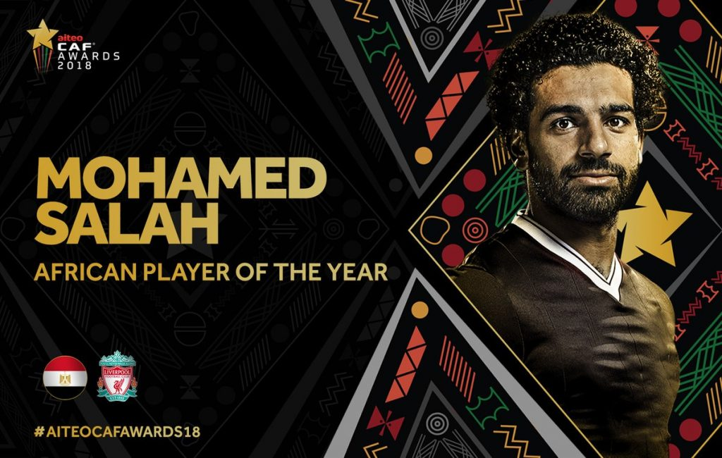 Liverpool and Egypt star Mohammed Salah retains African Player of the Year award