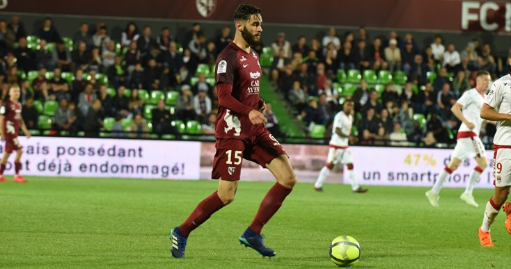 John Boye forces out defender Vahid Selimovic from Ligue 2 side FC Metz