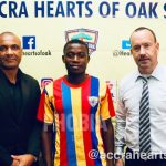 Auroras captain Michelle Sarpong signs first professional contract with Hearts of Oak