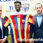 Hearts of Oak sign Charles MacCarthy on a free transfer