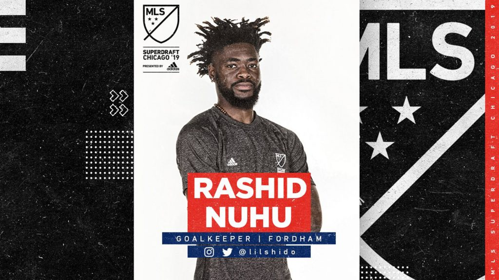 VIDEO: Watch exploits of New York Red Bulls new goalkeeper Rashid Nuhu