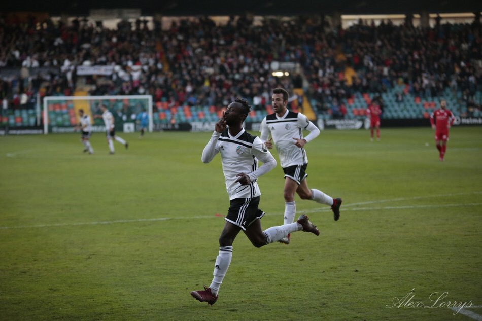 Ghanaian youngster Kwabena Owusu bags his 10th goal in Salamanca CF win over Pontevedra