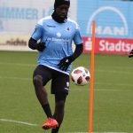 PHOTOS: Ghanaian striker Prince Owusu starts training at 1860 Munich