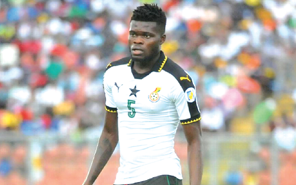 Thomas Partey makes Africa's best XI since the start of the current season